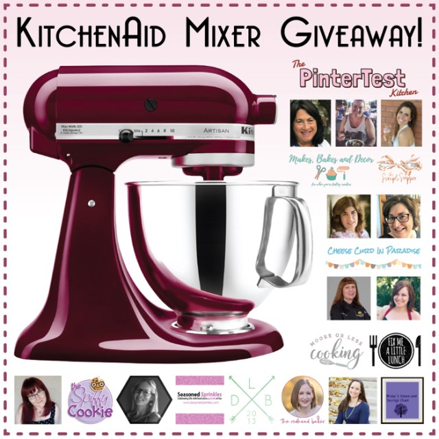 KitchenAid Stand Mixer Giveaway from ChefSarahElizabeth.com