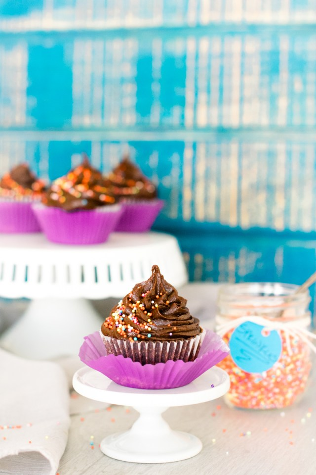 Chocolate Cupcake with Chocolate Froting