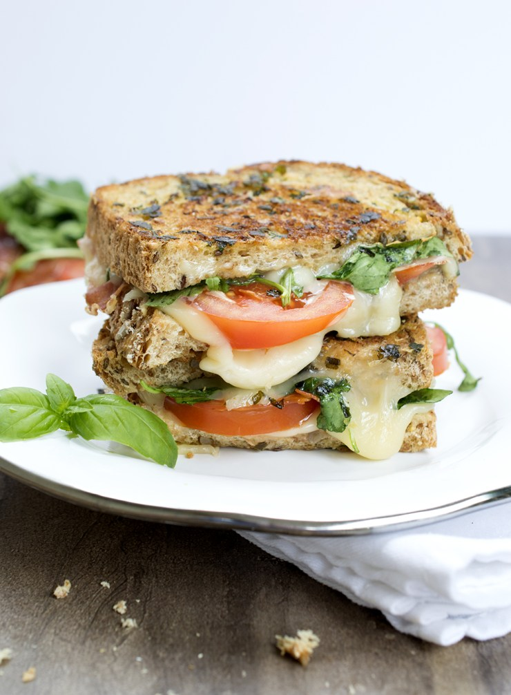 Italian BLT Grilled Cheese   chefsavvy.com
