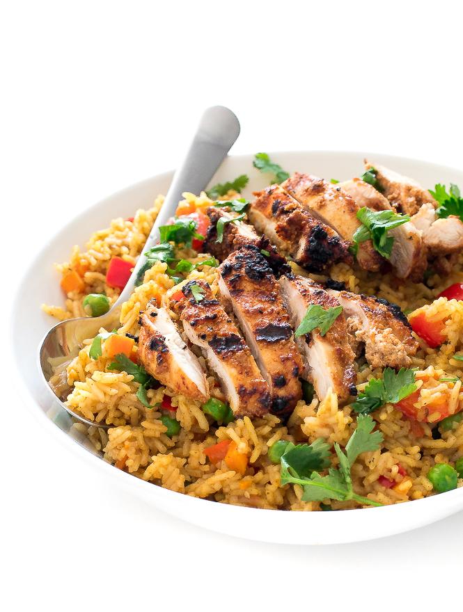 Biryani Chicken Recipe | chefsavvy.com