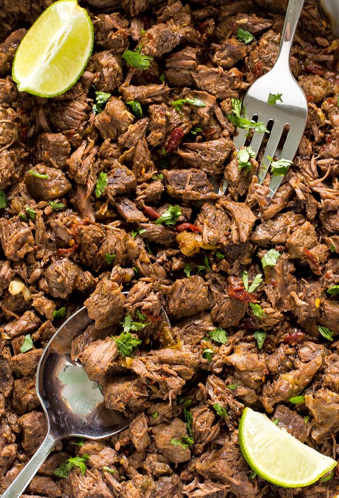 Easy Crockpot Barbacoa Beef | chefsavvy.com