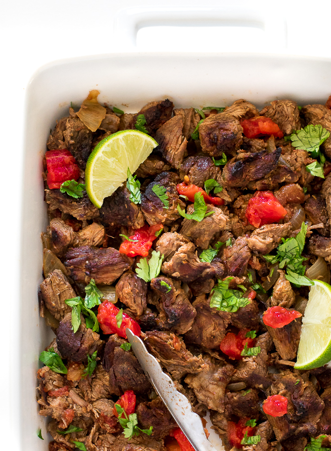 Easy Shredded Mexican Beef | chefsavvy.com
