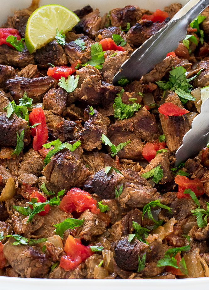 Easy Slow Cooker Mexican Beef | chefsavvy.com