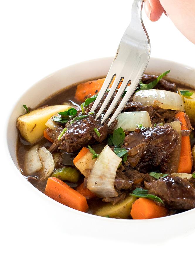 Crockpot Guinness Beef Stew | chefsavvy.com