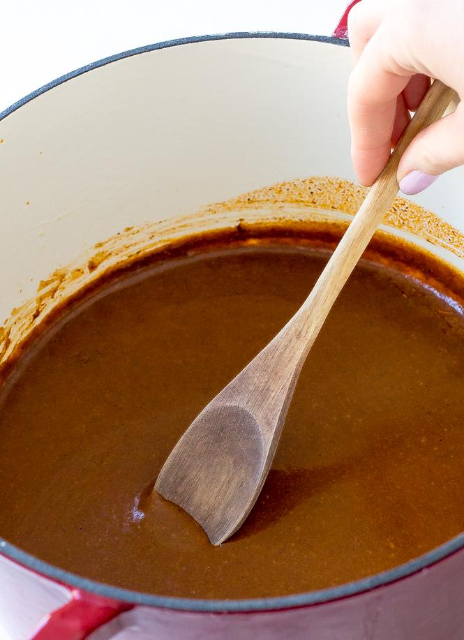 Homemade Enchilada Sauce | chefsavvy.com