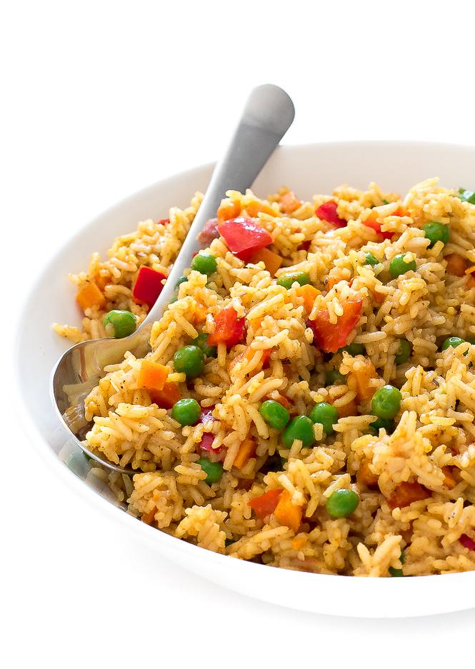 Easy Biryani Chicken | chefsavvy.com