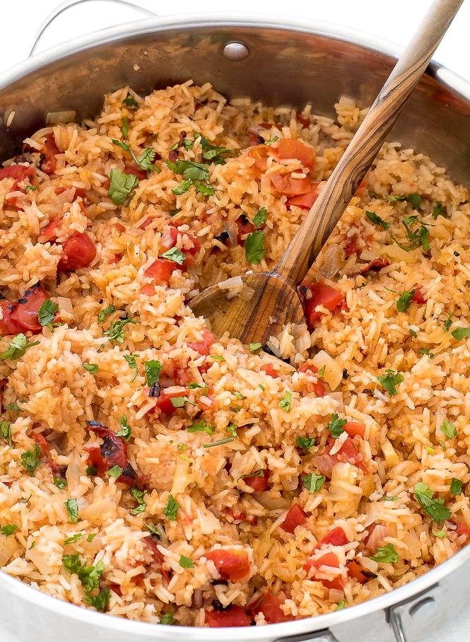 Authentic Spanish Rice | chefsavvy.com