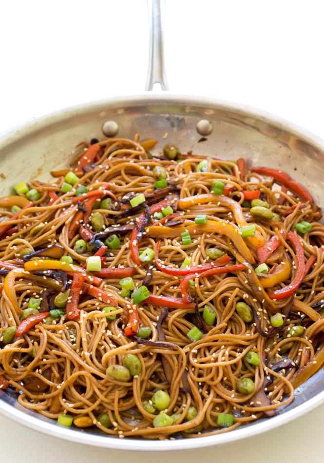 Vegetable Noodle Stir-Fry | chefsavvy.com