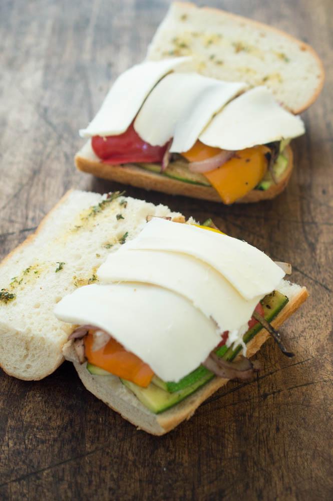 Vegetable Panini | chefsavvy.com