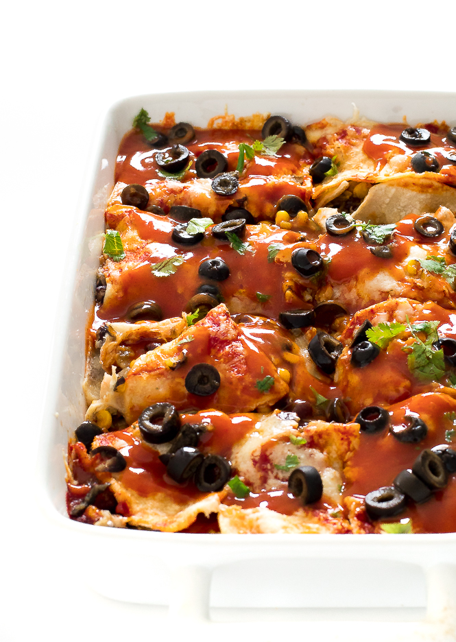 Enchilada Casserole | chefsavvy.com