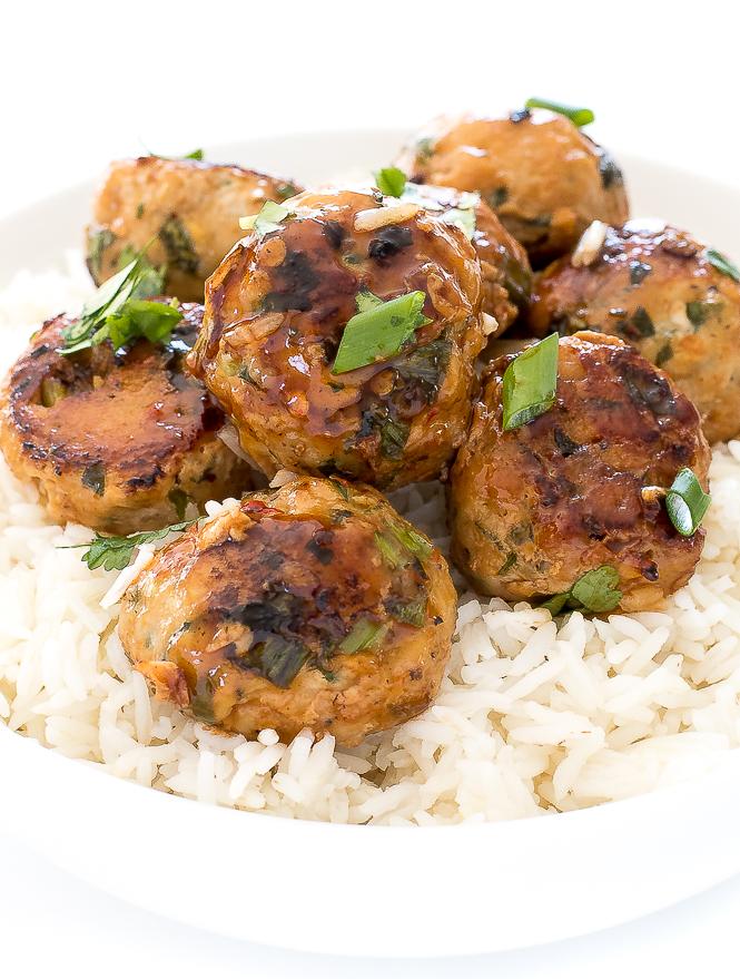 Vietnamese Pork Meatballs | chefsavvy.com