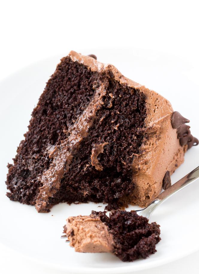 Moist Chocolate Cake | chefsavvy.com