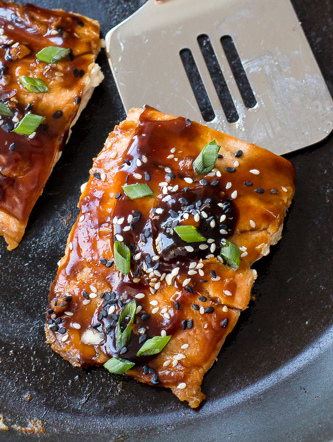 Teriyaki Salmon | chefsavvy.com