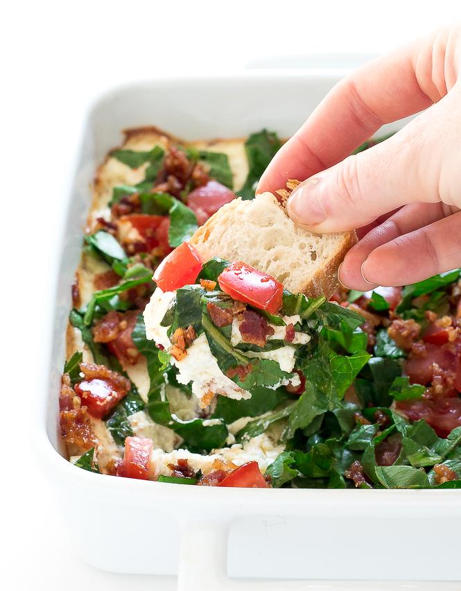 Baked BLT Dip | chefsavvy.com