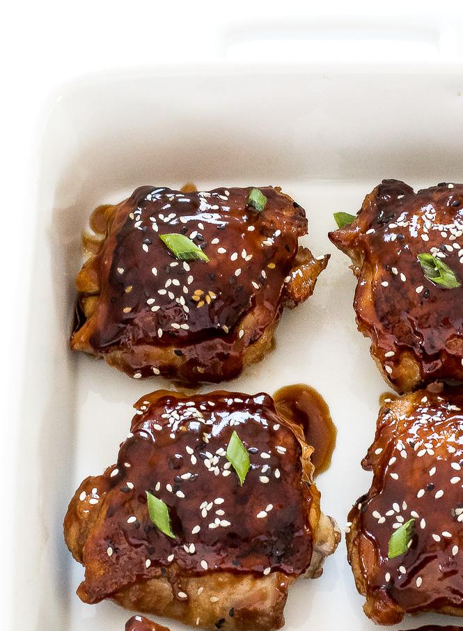 Baked Teriyaki Chicken | chefsavvy.com