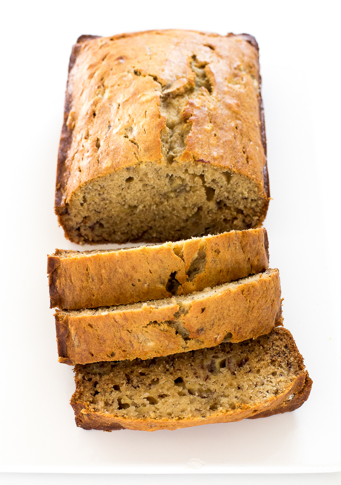 Healthy Banana Bread | chefsavvy.com