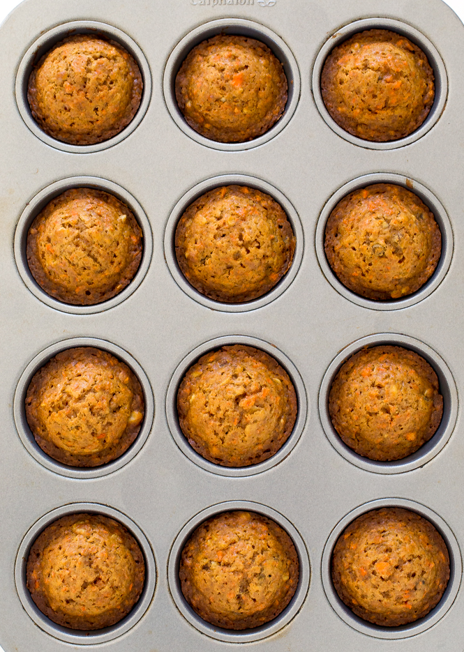 Best Carrot Cake Muffins | chefsavvy.com