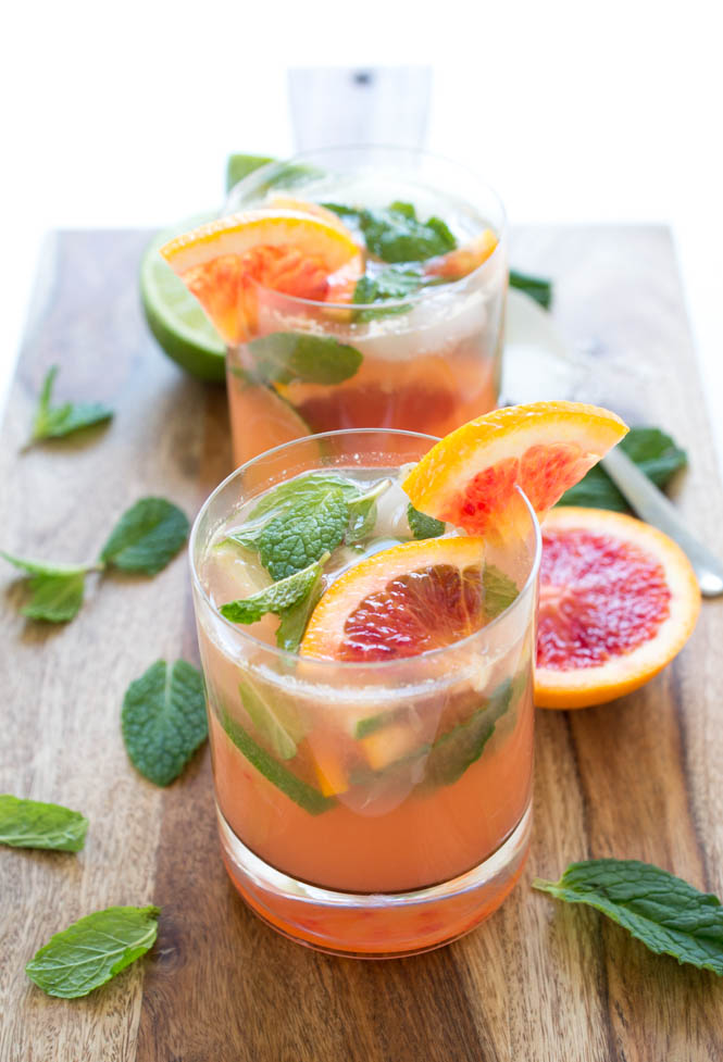 Blood Orange Mojito | chefsavvy.com