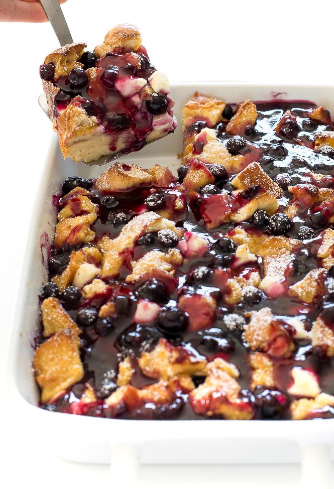 Blueberry French Toast Bake | chefsavvy.com