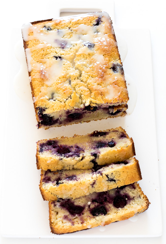 Lemon Blueberry Bread | chefsavvy.com