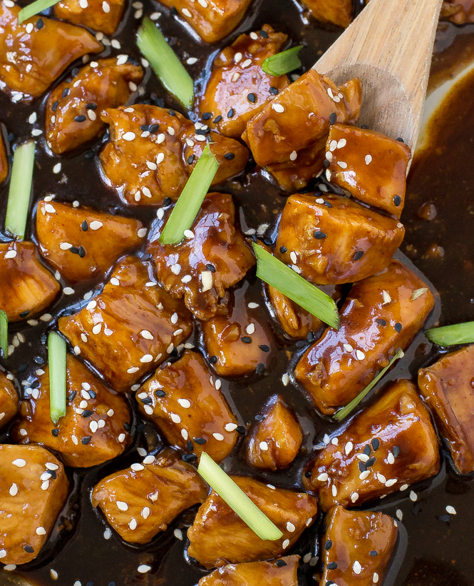 Bourbon Chicken | chefsavvy.com
