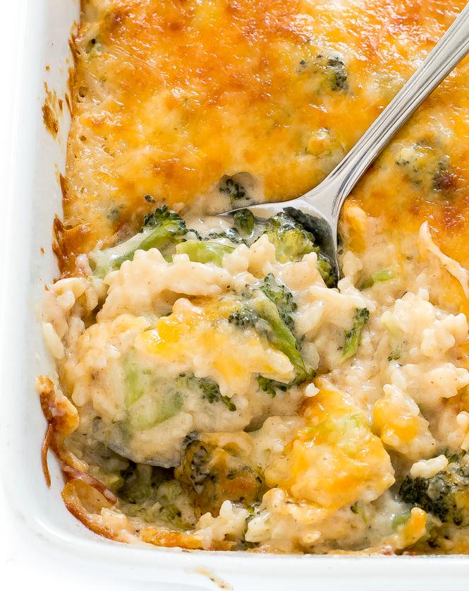 How To Make Broccoli Rice Casserole | chefsavvy.com