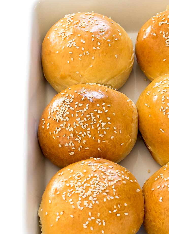 Burger Buns | chefsavvy.com