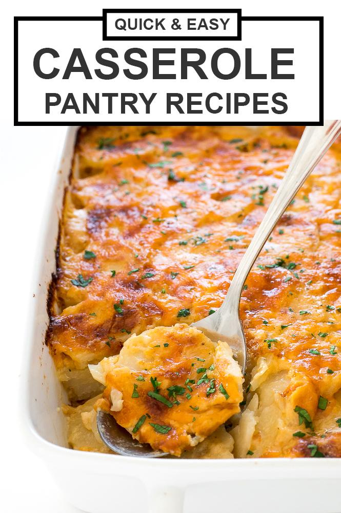 Casserole Pantry Recipes | chefsavvy.com
