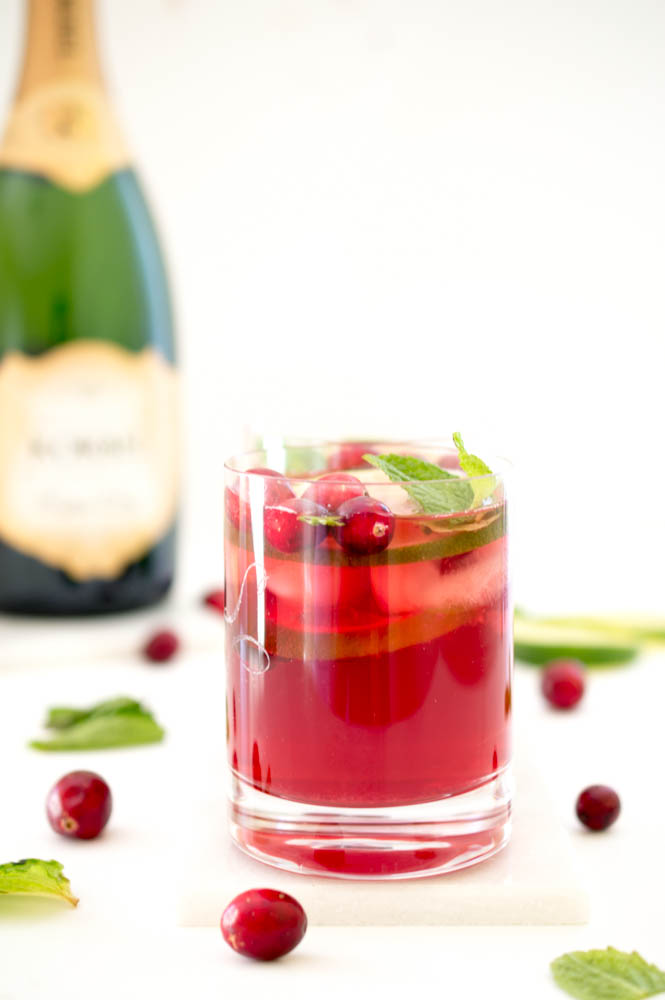 cranberry pomegranate punch christmas dinner recipes