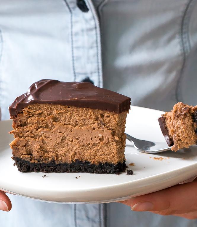 Triple Chocolate Cheesecake | chefsavvy.com
