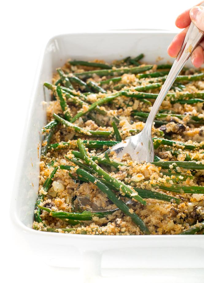 Green Bean Casserole Recipe | chefsavvy.com