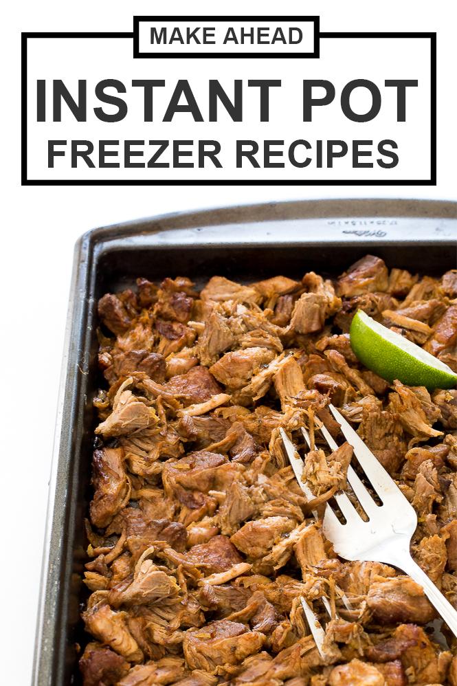 Instant Pot Freezer Meals | chefsavvy.com