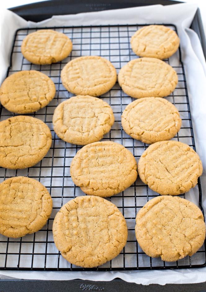 Peanut Butter Sandwich Cookies | chefsavvy.com
