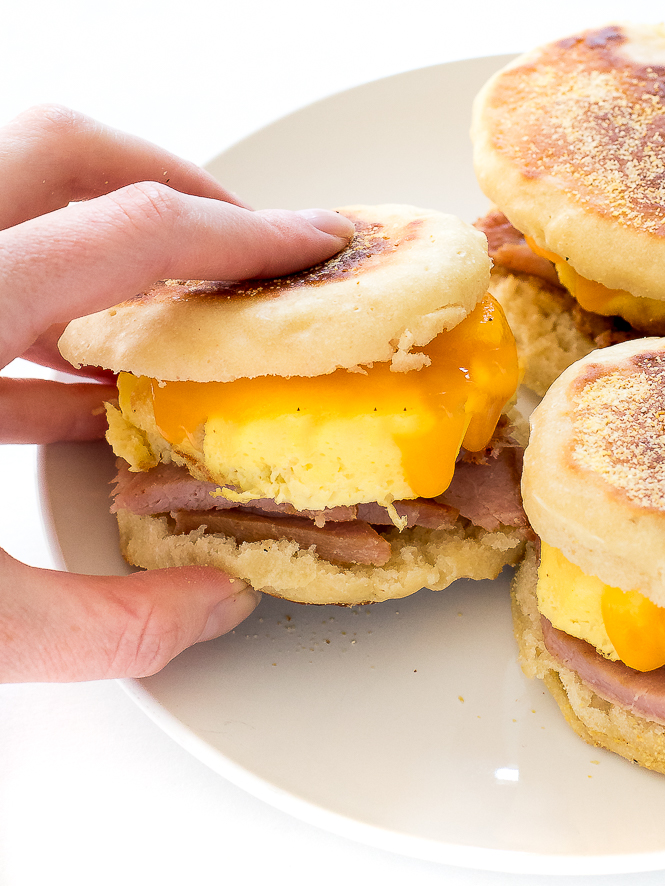 Freezer Breakfast Sandwich | chefsavvy.com