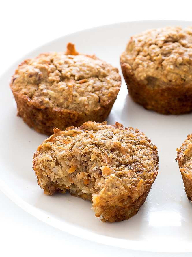 Flourless Morning Glory Muffins | chefsavvy.com