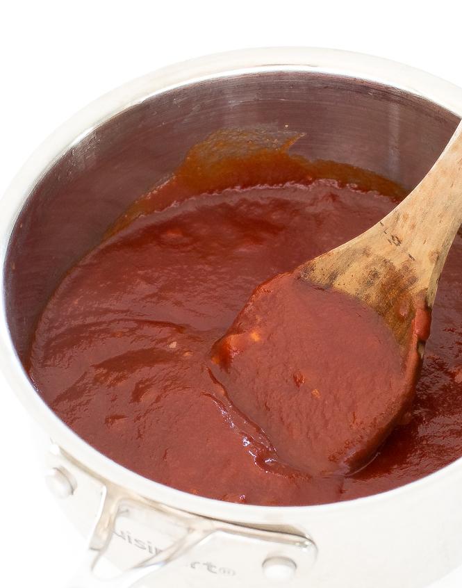 Homemade Bourbon Barbecue Sauce recipe