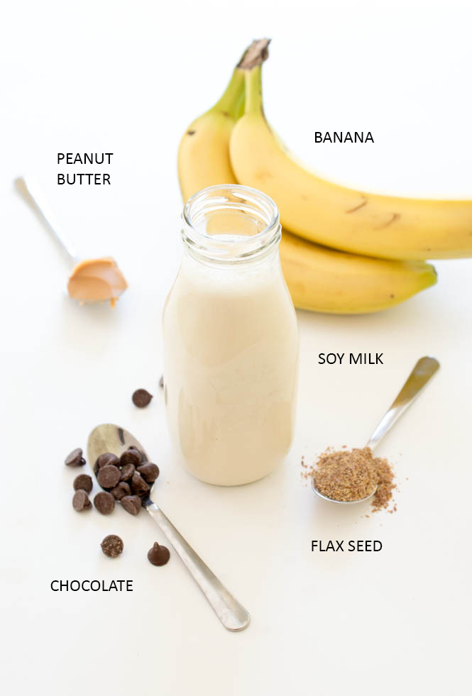 Chocolate Peanut Butter Protein Smoothie Chef Savvy