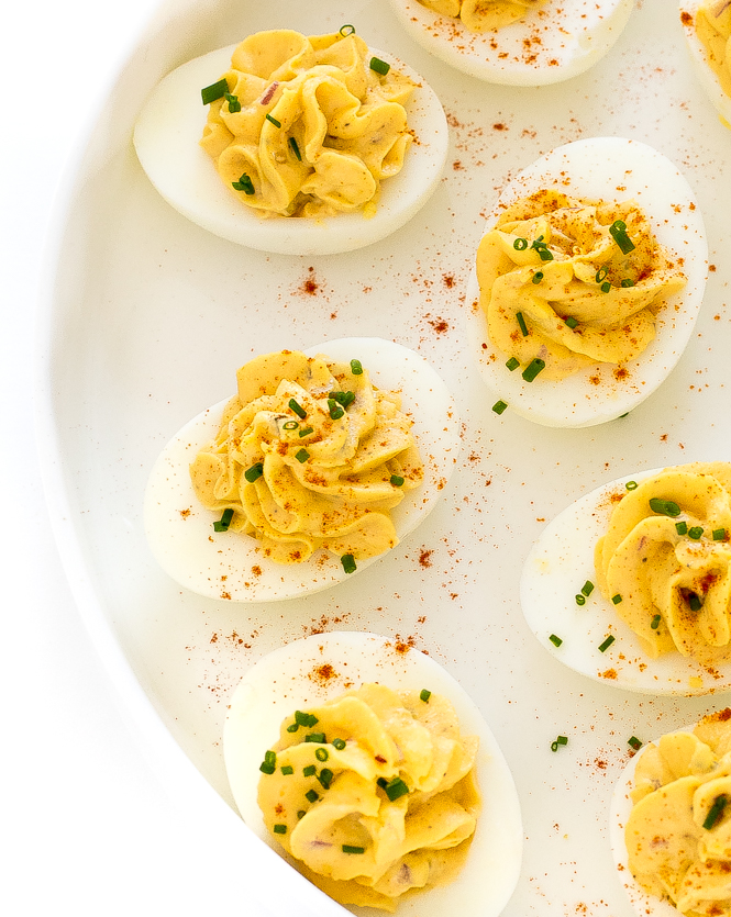 The Best Deviled Egg Recipe | chefsavvy.com