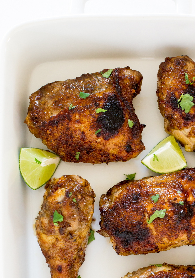 Baked Jerk Chicken | chefsavvy.com