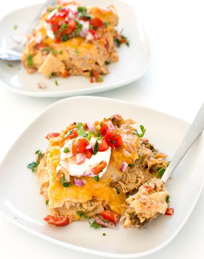 King Ranch Chicken Casserole Recipe | chefsavvy.com