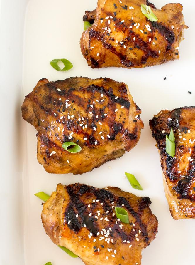 Korean Grilled Chicken | chefsavvy.com