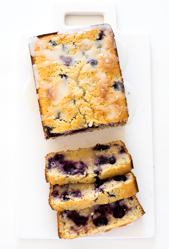 Easy Lemon Blueberry Bread | chefsavvy.com