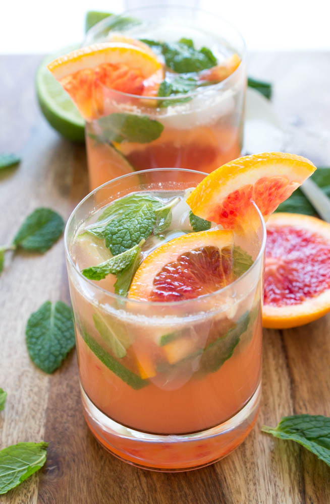 Blood Orange Mojito Recipe | chefsavvy.com