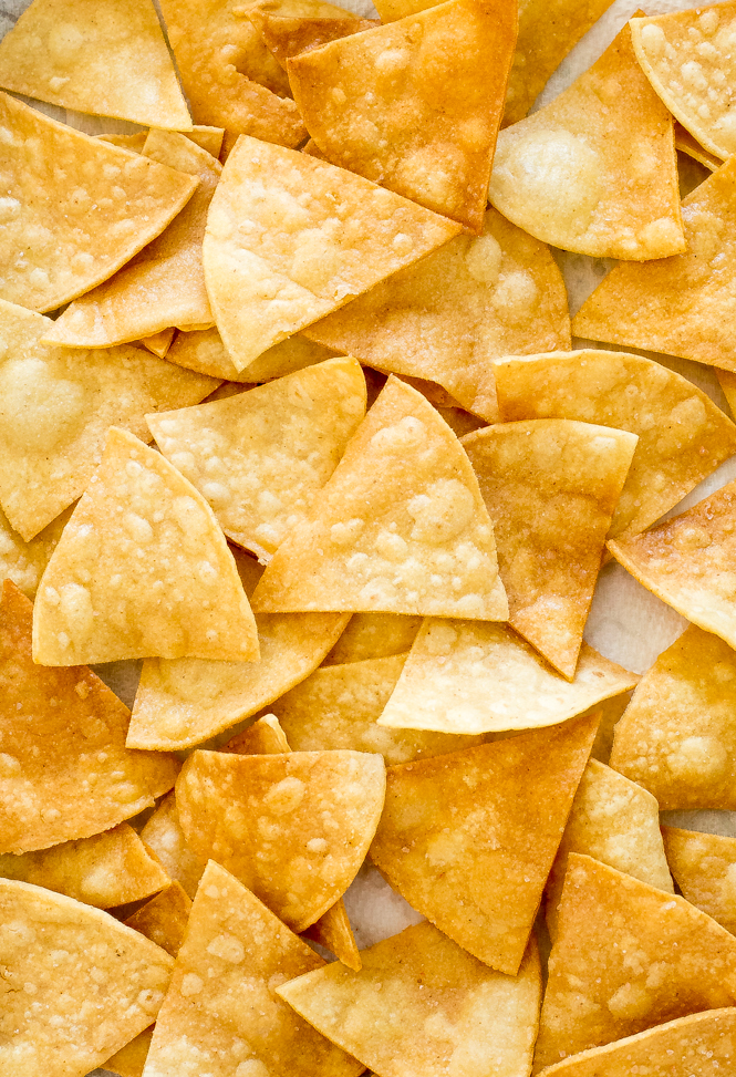Homemade tortilla chips from scratch | chefsavvy.com