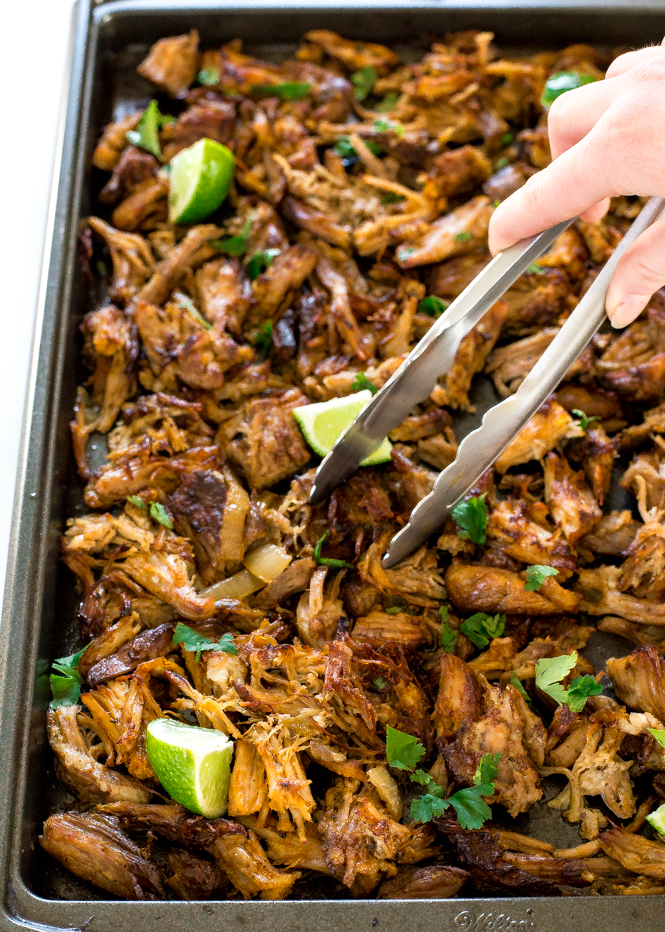 Slow Cooker Pork Carnitas | chefsavvy.com