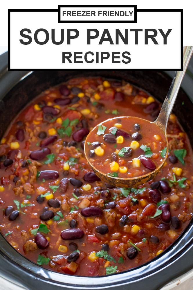 Soup Pantry Recipes | chefsavvy.com