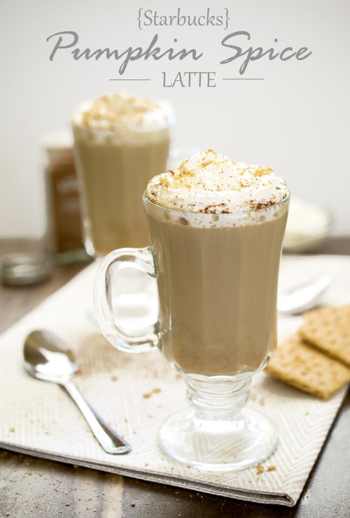 Starbucks Pumpkin Spice Latte Copycat Recipe   chefsavvy.com