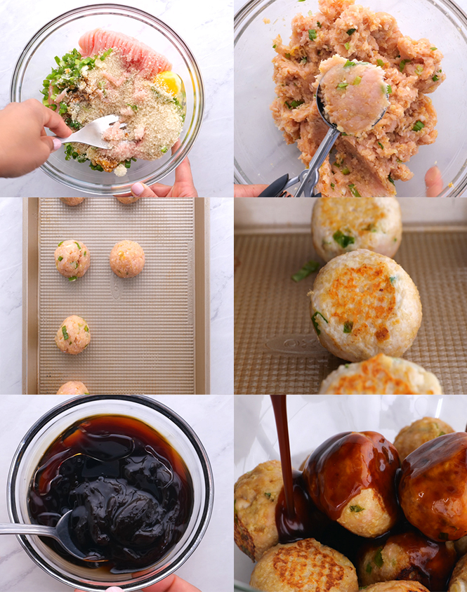 Learn how to make Asian Meatballs at home!   chefsavvy.com