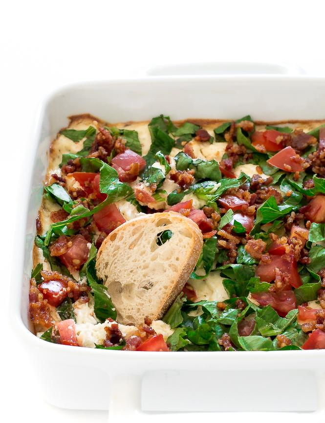 Easy BLT Dip | chefsavvy.com