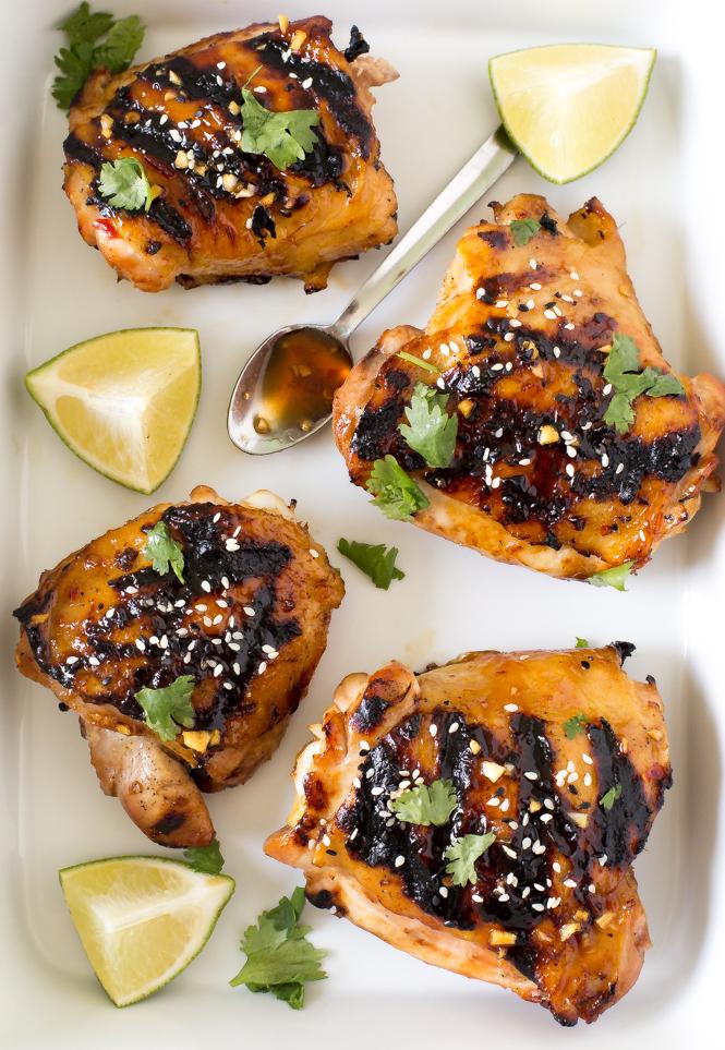 Easy Thai Chicken | chefsavvy.com